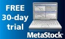 try MetaStock charting software with a Free Trial